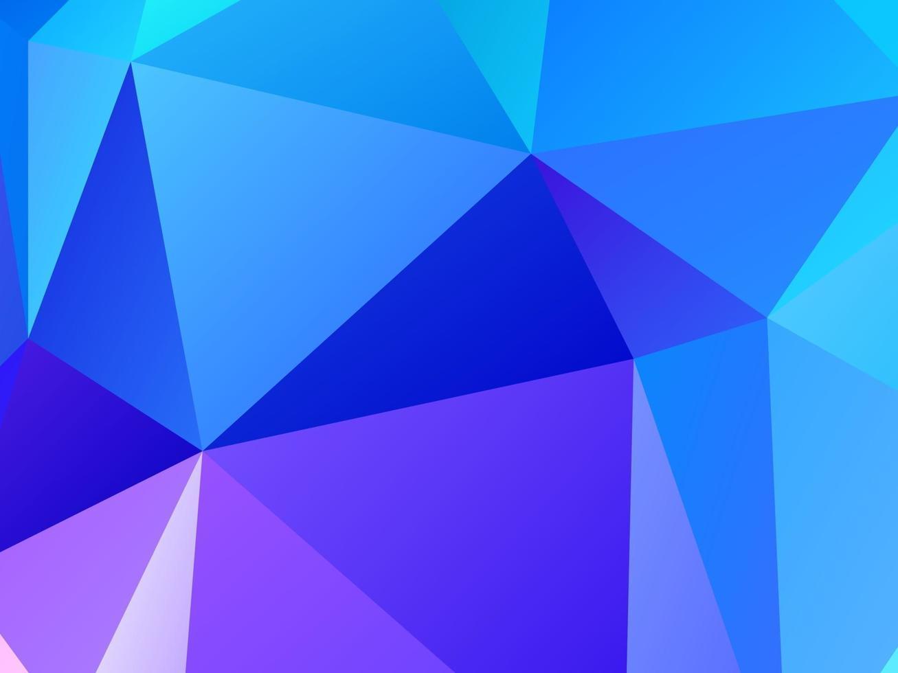 sfondo moderno colorato poligono geometrico vettore
