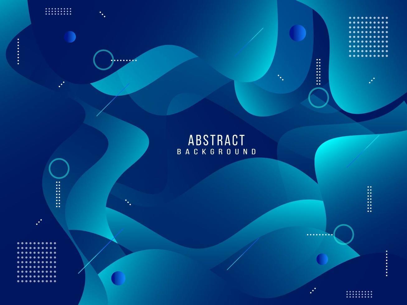 movimento fluido gradiente geometrico astratto dinamico con sfondo modello moderno vettore