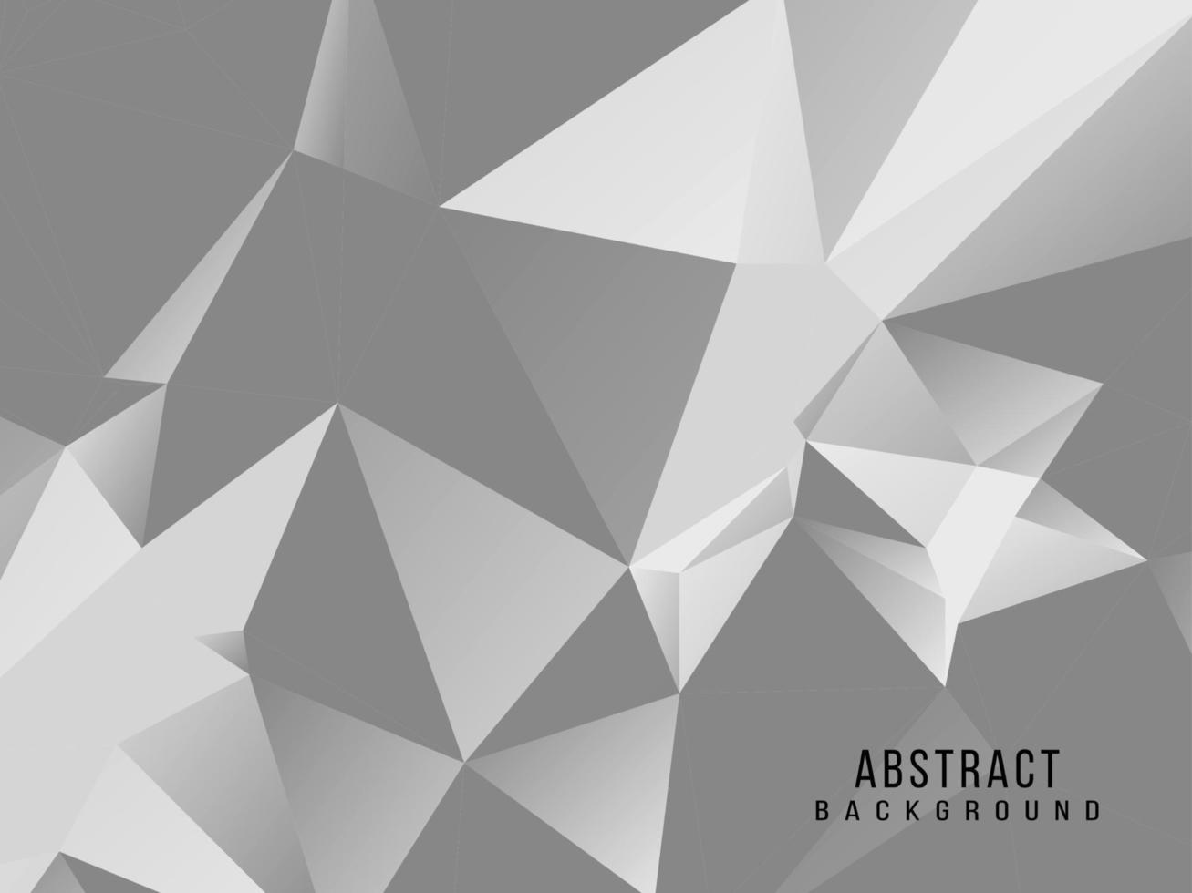 disegno di sfondo moderno elegante geometrico grigio e bianco astratto vettore