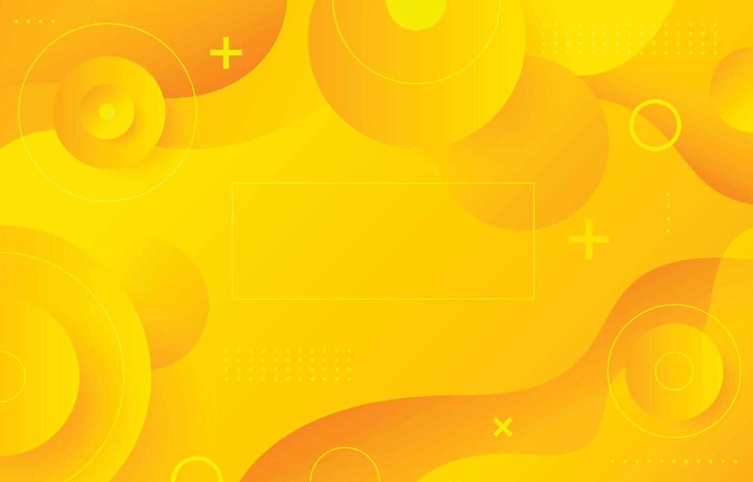 sfondo giallo brillante vettore