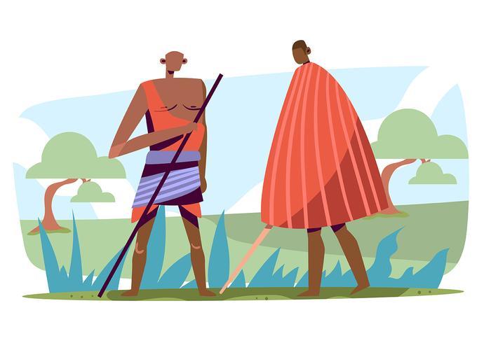 Popolazioni indigene vettore