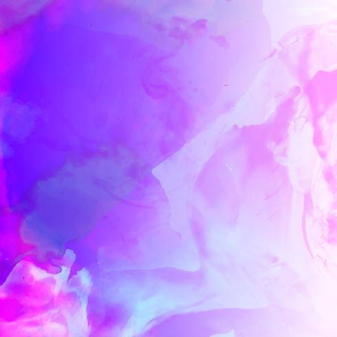 Astratto sfondo colorato ad acquerello vettore