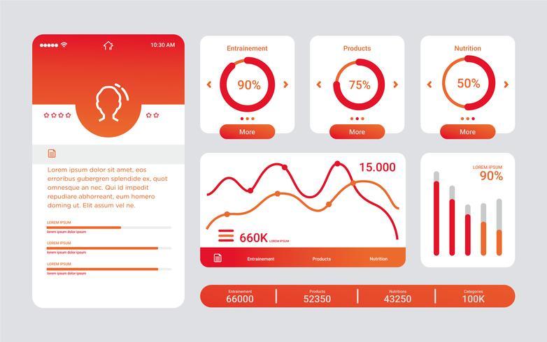 Grafici UI Kit Vector