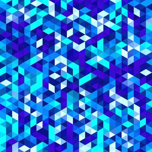 Mosaico poligonale vettoriale, triangolo texture di sfondo, motivo geometrico vettore