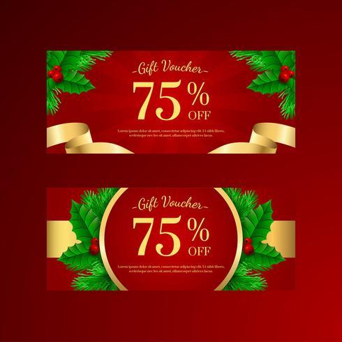 Modelli di regali di Natale Holy Tree Gift vettore