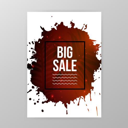 Banner del sito Web di vendita vettore