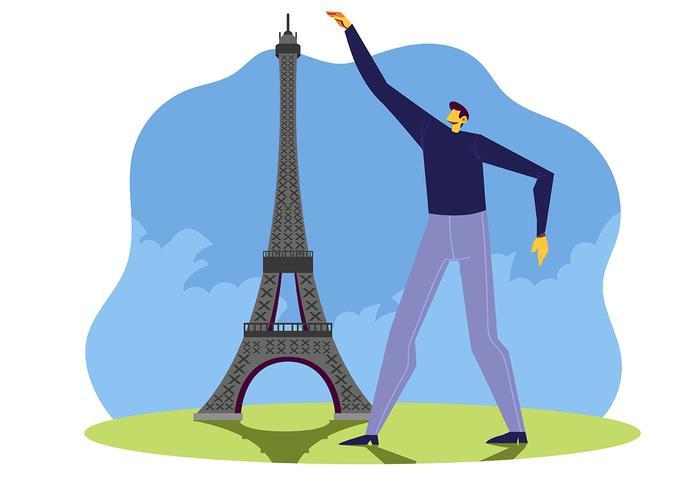Parigi vettore