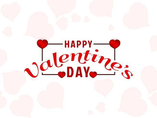 Astratto felice San Valentino sfondo vettore