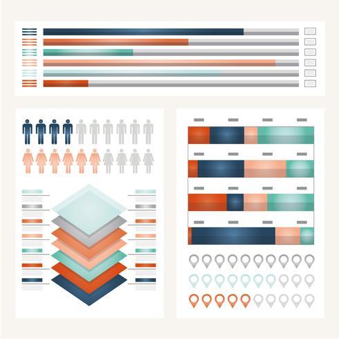 Illustrazione infografica vettoriale