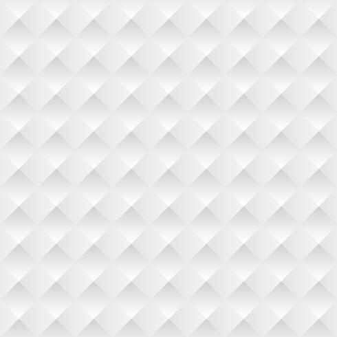 Fondo bianco astratto con le pieghe e le ombre, illustrazione di vettore