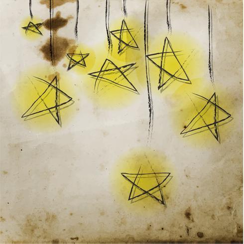 Progettazione creativa della cartolina d'auguri, vettore