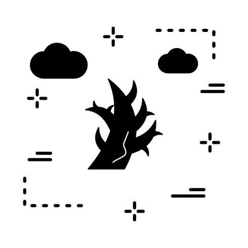 icona dell'albero di vettore