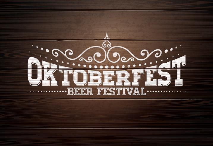 Illustrazione dell'Oktoberfest vettore