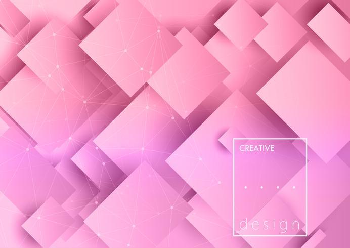 Sfondo di design creativo vettore