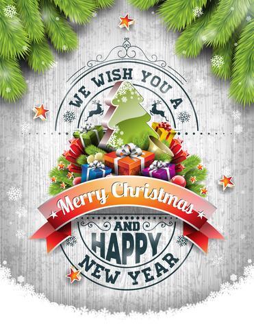 Illustrazione di buon Natale vettore