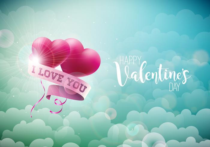 Buon San Valentino Design vettore