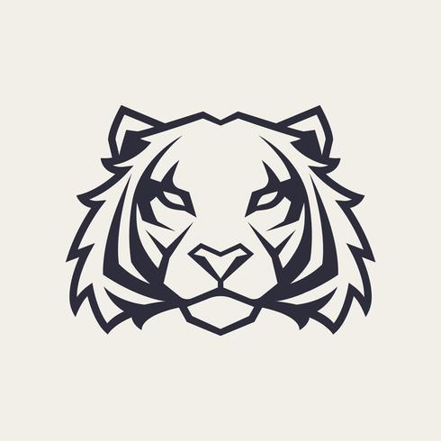 mascotte di vettore della tigre