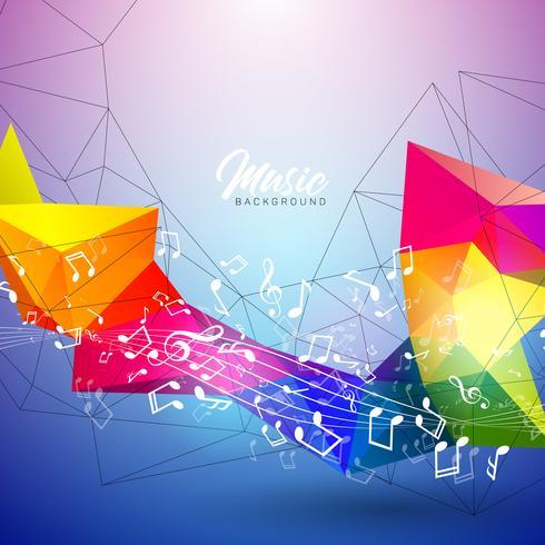 Illustrazione di musica vettore