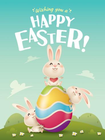 Buona Pasqua! vettore