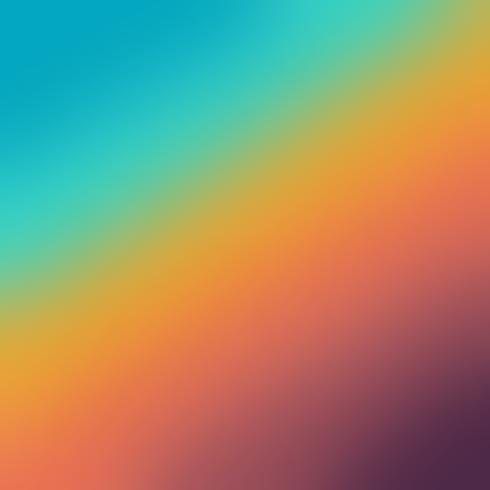 Fondo astratto di pendenza di colore della sfuocatura di tendenza di ui per il web. vettore