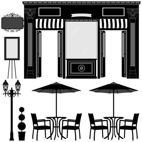 Negozio Business Boutique Shop. vettore
