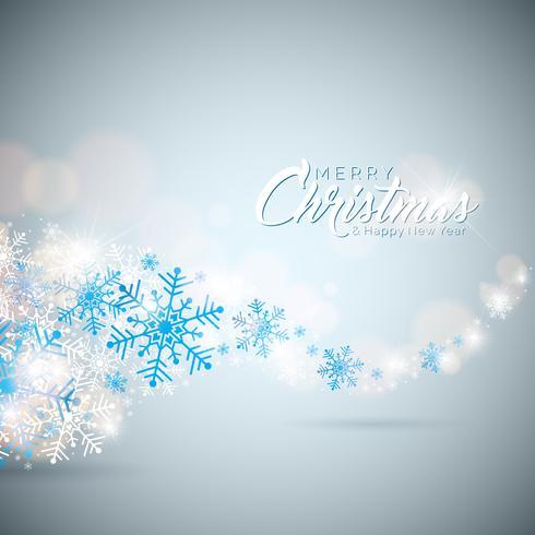 Buon Natale e felice anno nuovo illustrazione vettore