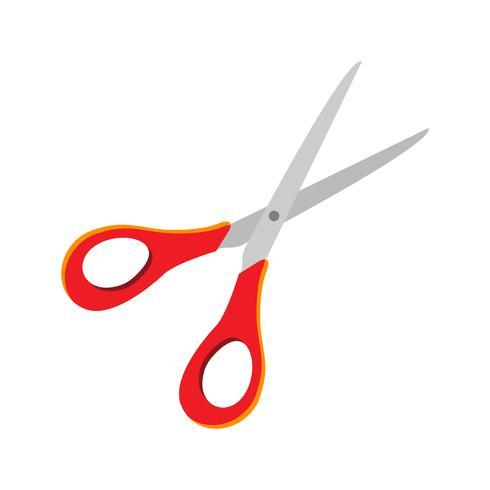 Icona di vettore di forbici