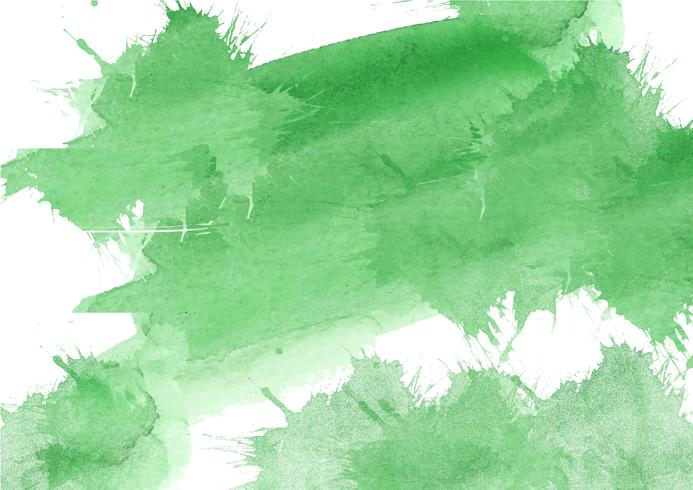 Sfondo acquerello dipinto a mano colorato. Pennellate acquerello giallo, verde e blu. Struttura astratta dell'acquerello e sfondo per il design. Priorità bassa dell'acquerello su carta ruvida. vettore