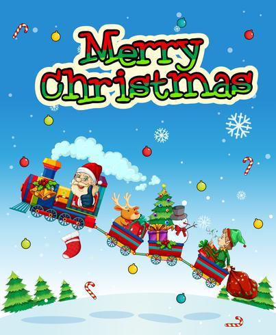 Natale vettore