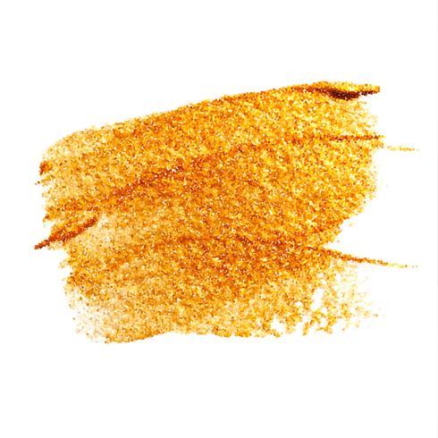 Macchia d'oro vettoriale macchia macchia d'oro. Illustrazione di arte strutturata brillante astratta dell'oro. Illustrazione di arte strutturata brillante astratta dell'oro