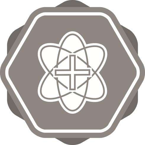 Icona multipla del fondo di colore riempita segno medico vettore