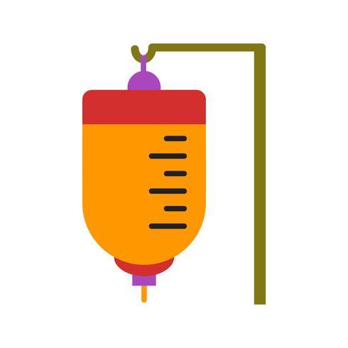Icona medica multi colore a goccia vettore