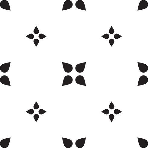 Modello triangolo geometrico senza soluzione di continuità. Retro astratto vettore