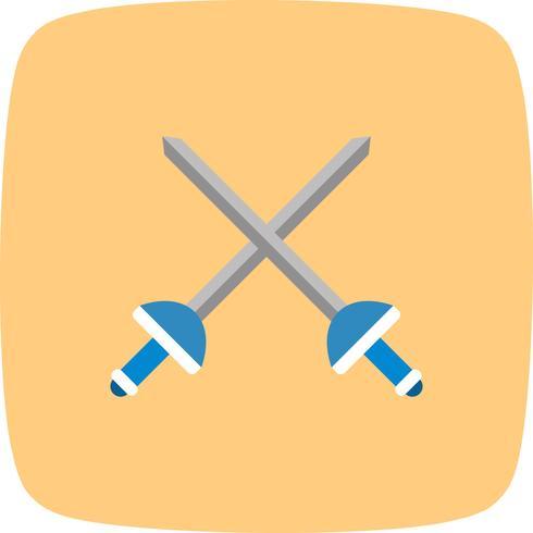 Illustrazione di vettore dell'icona di scherma