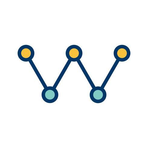 Icona di collegamento vettoriale