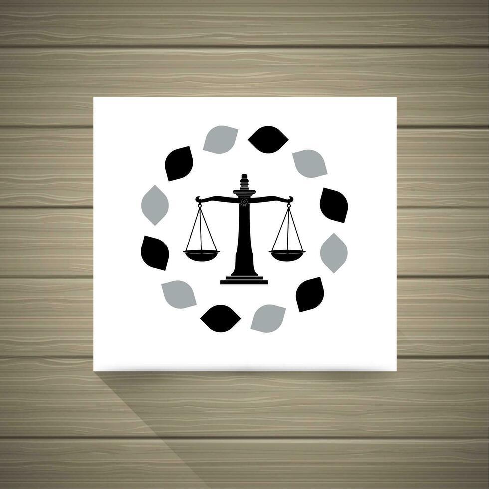 Avvocato logo vettore