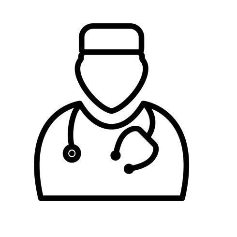 icona del medico di vettore