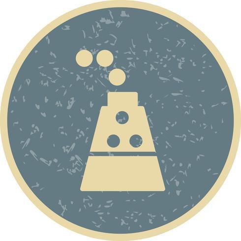 Icona di esperimento vettoriale