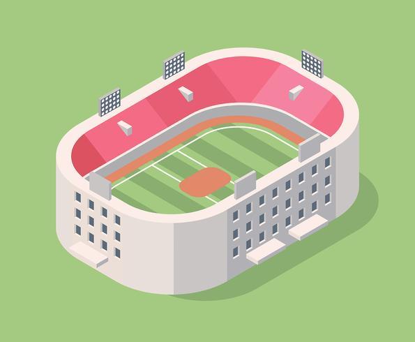 Stadio del cricket vettore