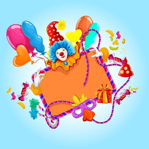 Celebrazione di sfondo colorato vettore