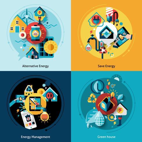 Set di efficienza energetica vettore