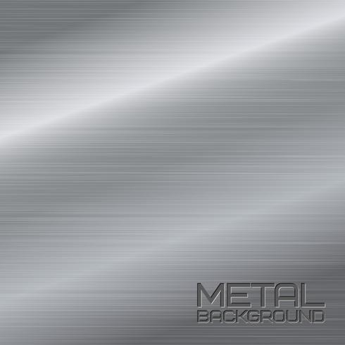 Sfondo astratto di metallo vettore