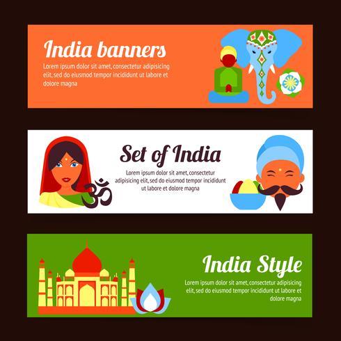 mini poster india vettore