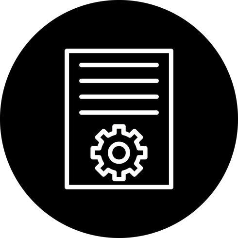 Icona di marketing articolo vettoriale