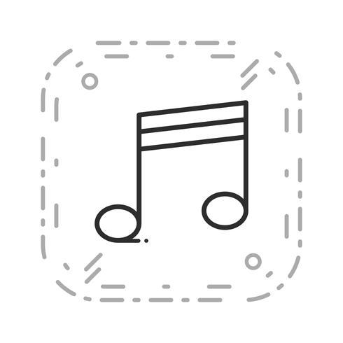 Icona multimediale vettoriale
