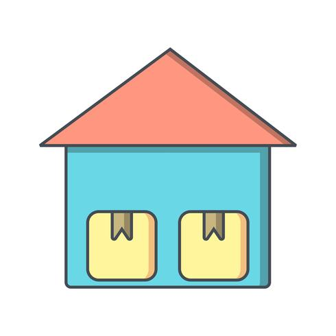 Icona di unità di archiviazione vettoriale