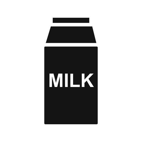 Icona del latte vettoriale