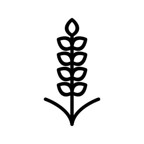 Icona del grano vettoriale