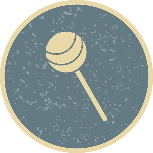 Icona di lecca-lecca vettoriale
