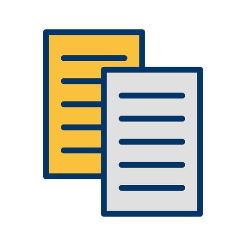 Icona di file vettoriali